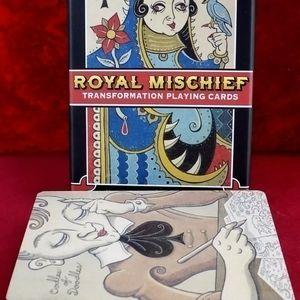 Royal Mischief transformation deck